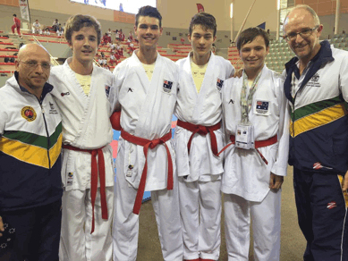 Medals won at International, National & State Levels Karate