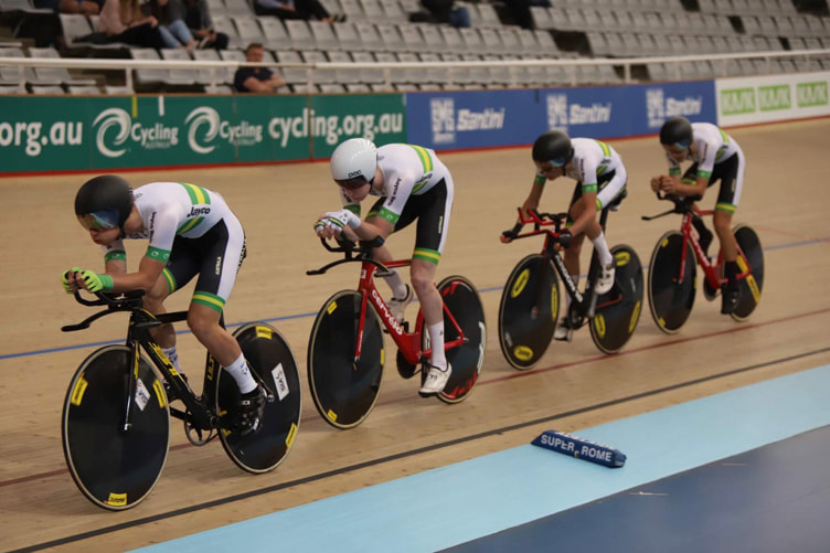 Graeme Frislie: Leading the Team Pursuit