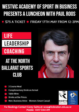 Paul Roos Luncheon May 2019
